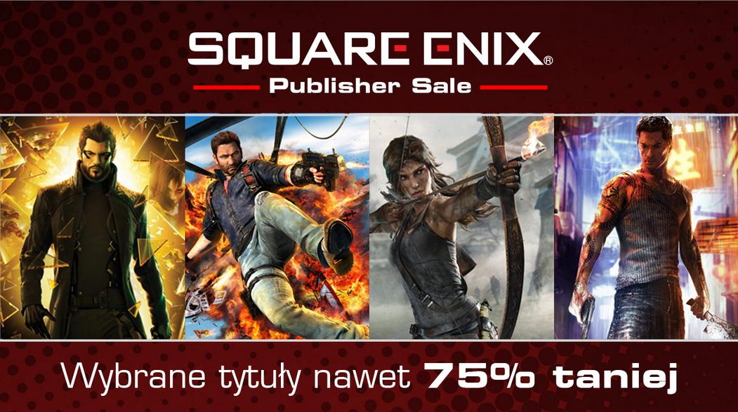 Wyprzedaż gier Square Enix @xbox store