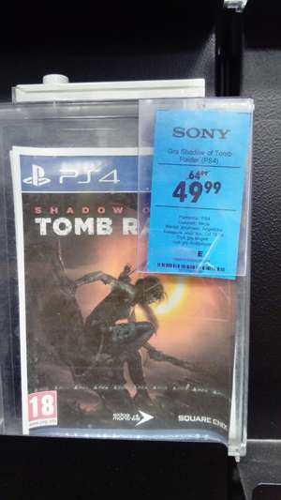 Shadow of the Tomb Raider POLSKA WERSJA PS4 w neonet Częstochowa