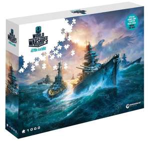 Puzzle - World of Tanks / World of Warships - cdp.pl - 4 wzory - 1000 el. - 68 x 48 cm