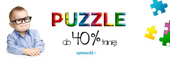 Promocja na puzzle do -40% @ Empik.com
