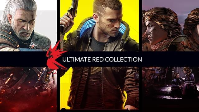 Kolekcja: Tylko RED (gry z serii wiedźmin, cyberpunk 2077)