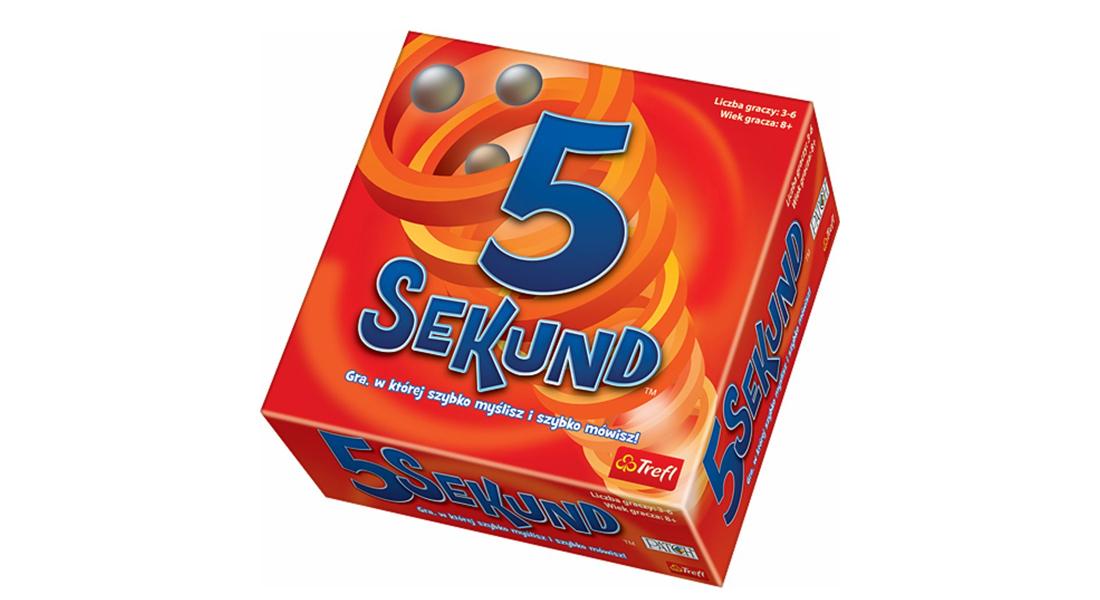 Trefl 5 sekund z darmową dostawą i w super cenie @Satysfakcja.pl