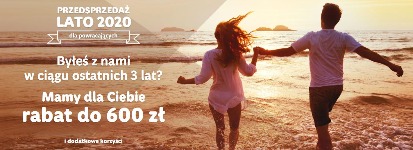 Bon na wakacje 2020 do 600 zł RAINBOW
