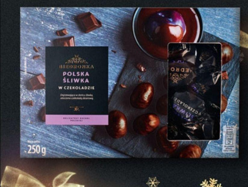 Biedronka Polska śliwka w czekoladzie -50%