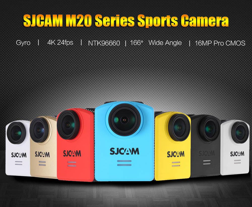 SJCAM M20 Original 4K 1080P Full HD 16MP 166°Wide Angle Waterproof 30M WiFi Sports Action Camera @ TomTop
