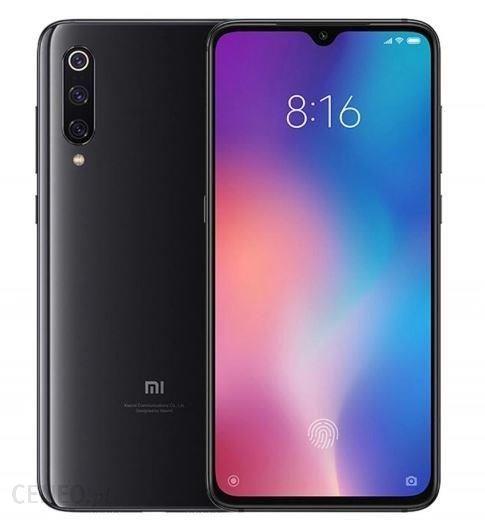 Xiaomi Mi 9 czarny 6/128 + BON