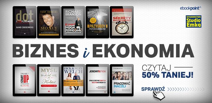 Biznes i ekonomia - ebooki 50% taniej @ ebookpoint.pl