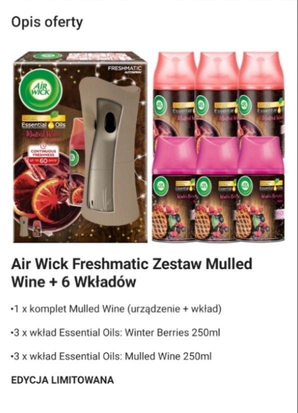 Odświeżacz powietrza Airwick + zapasowe wkłady