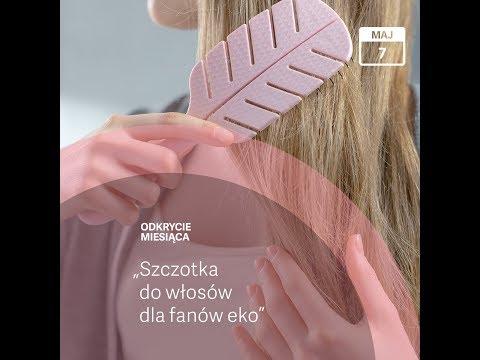 biodegradowalna szczotka do włosów