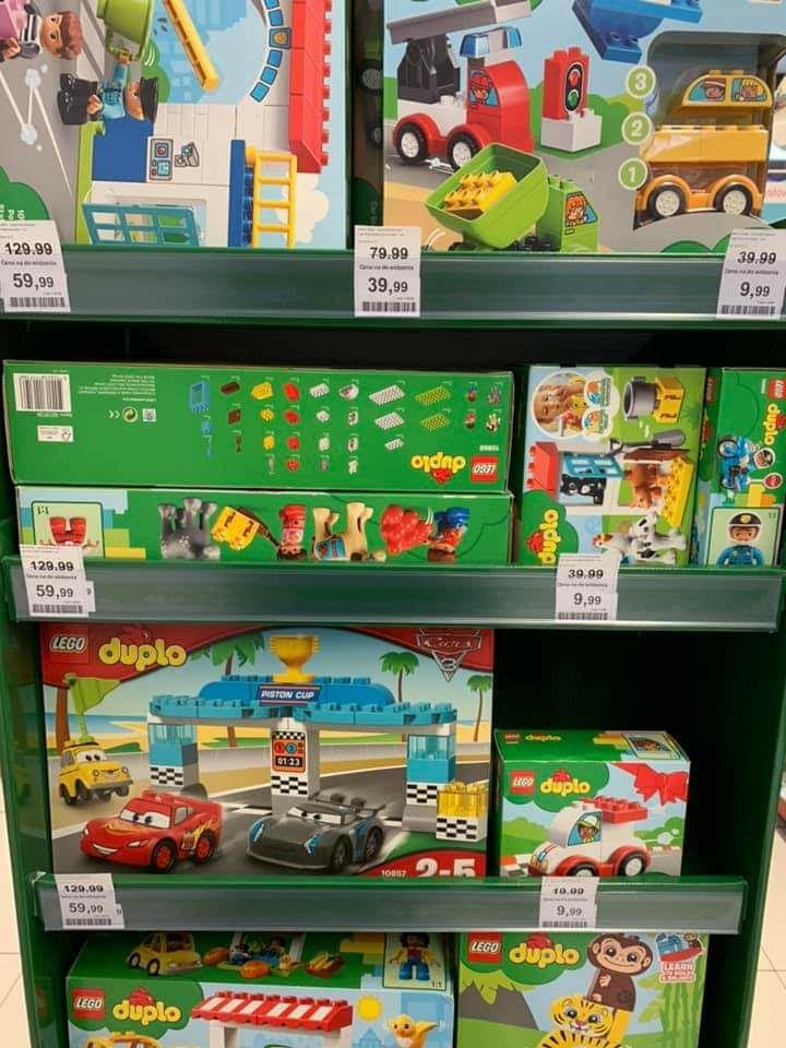 Wyprzedaż LEGO Duplo w Rossmanie od dziś