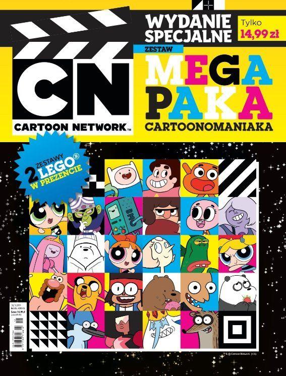 Magazyn cartoon network z LEGO polybag 30530 i 30406