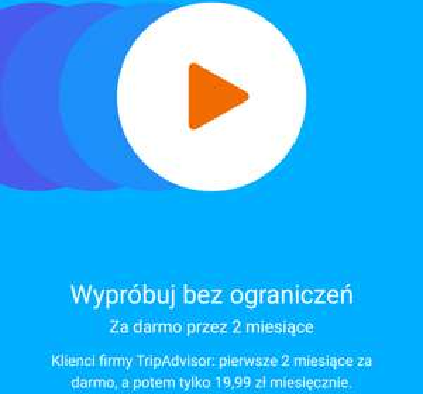 2 miesiące subskrypcji Google Play Music za darmo od TripAdivsor