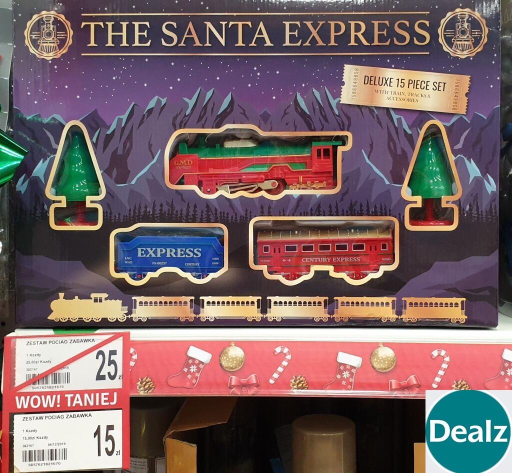 """Zabawkowy pociąg ,,Santa Express"""" @Dealz"""
