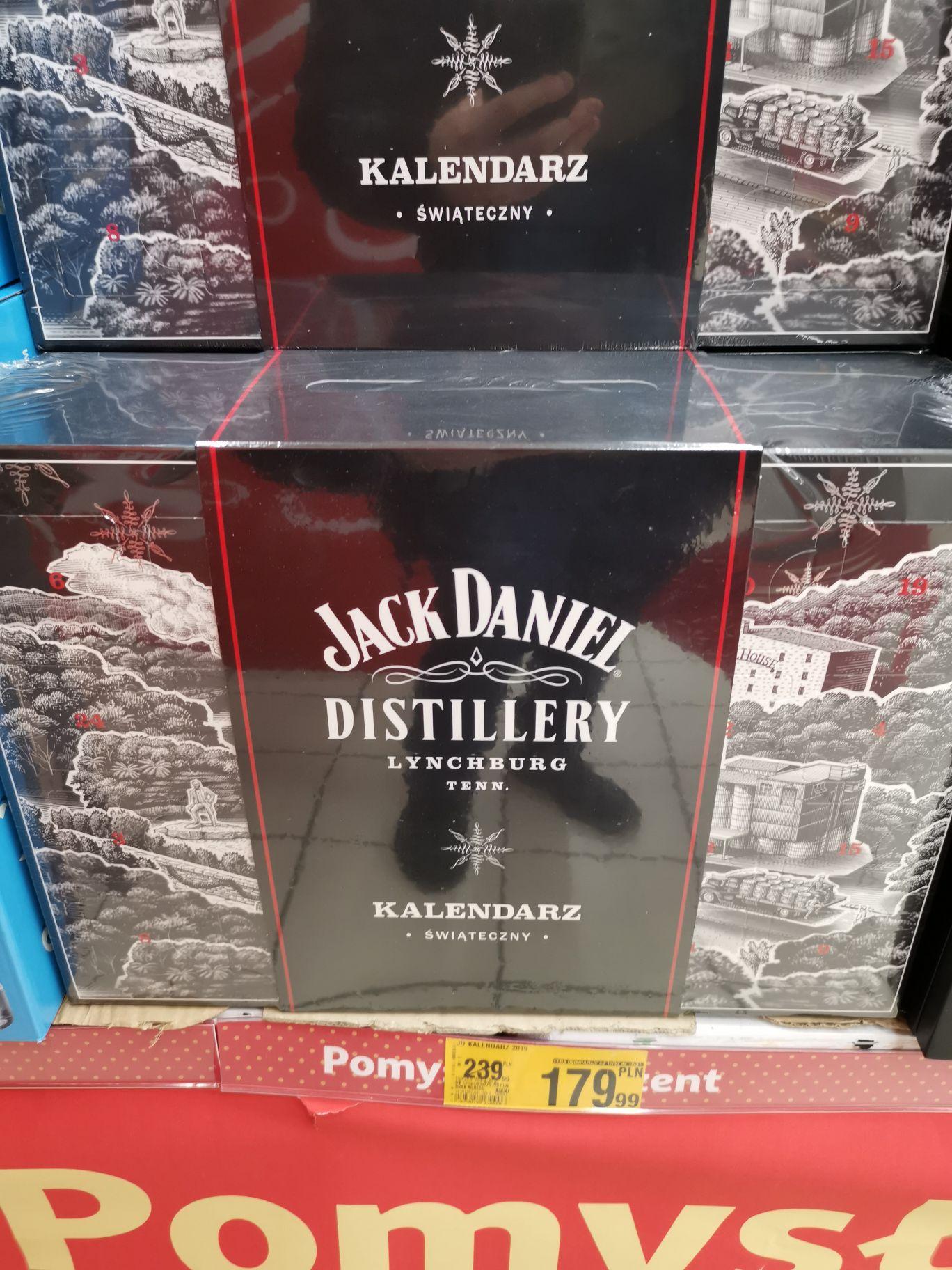 Jack Daniels kalendarz świąteczny Auchan