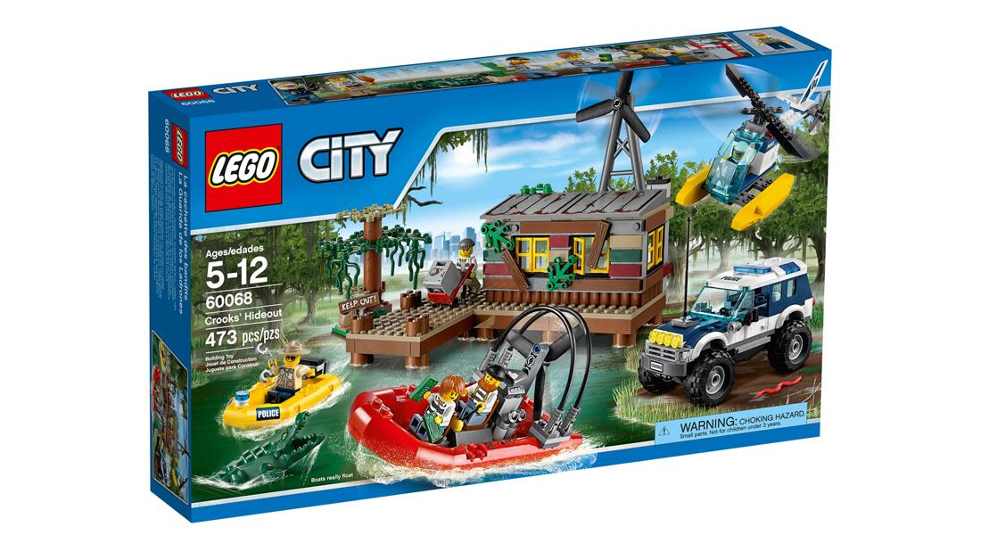 Lego city kryjówka rabusiów