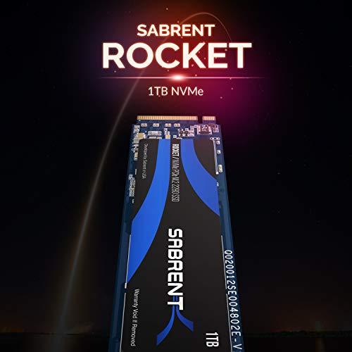 Dysk Sabrent 1TB Rocket NVMe PCIe M.2 2280