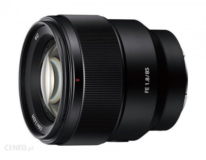 Obiektyw Sony 85mm 1.8 FE