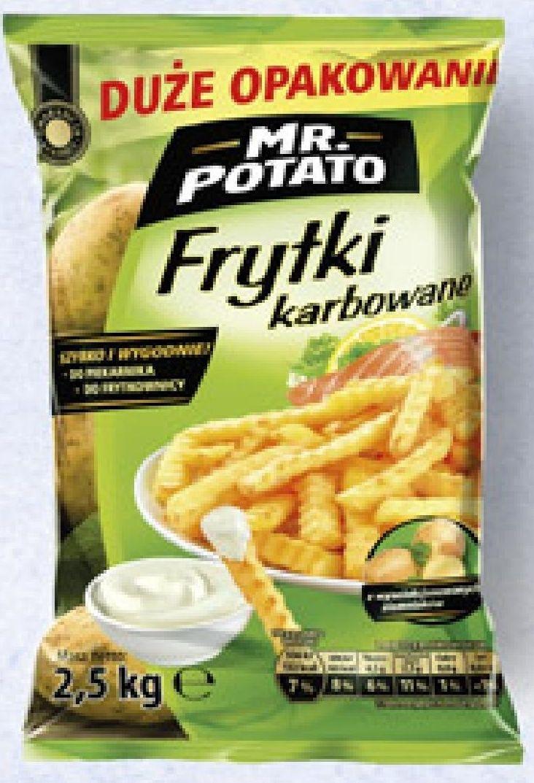 Frytki karbowane Mr. Potato 2.5 kg