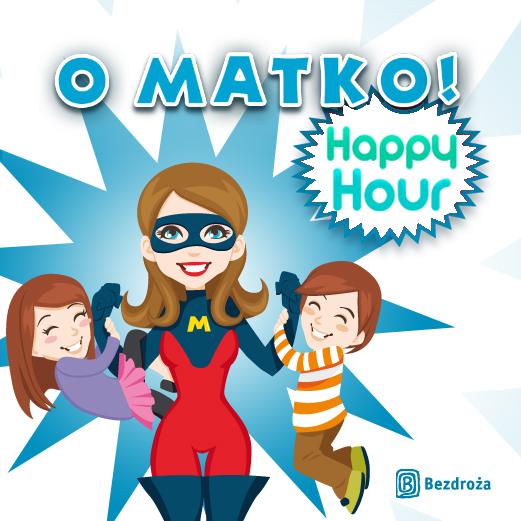 Happy hour -40% w godz. 20-21 @ Bezdroza.pl