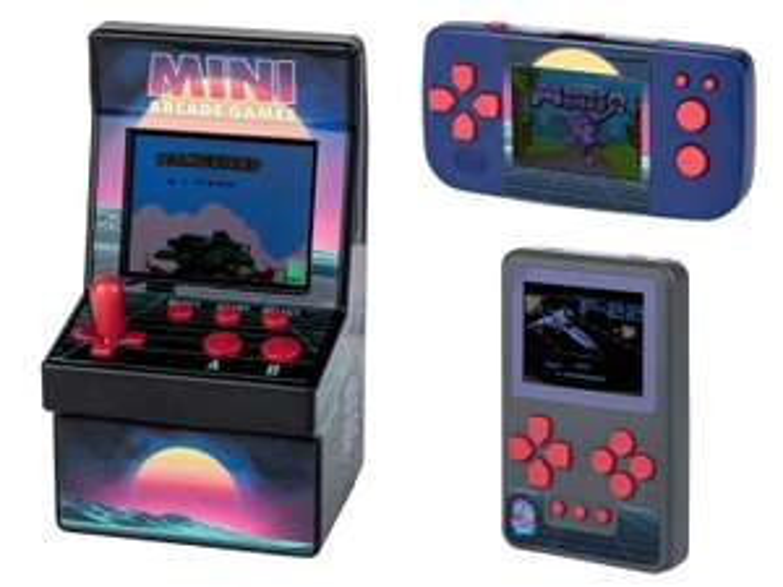 Lidl PLAYTIVE® Minikonsola 200 gier, 3 wersje