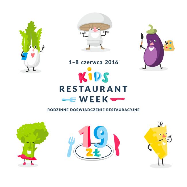 3 daniowy obiad za 19zł dla dzieci oraz 39zł dla rodziców (1-8 czerwca) @ Restaurant Week Warszawa