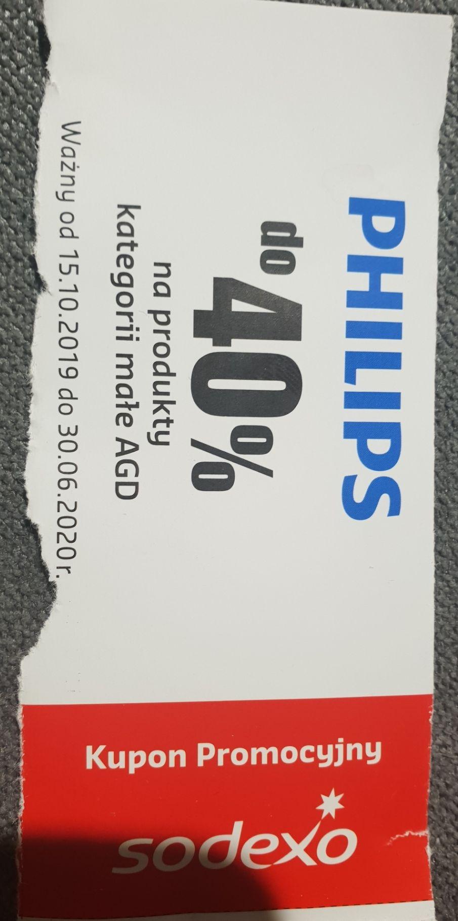 do -40% PHILIPS małe agd