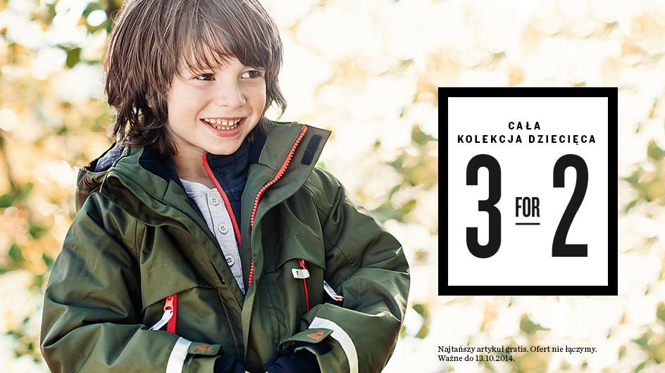 3 w cenie 2 w kolekcji dziecięcej @ KappAhl