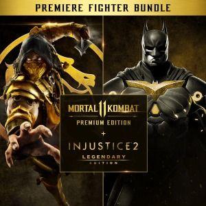 Mortal Kombat 11 Edycja Premium + Injustice 2 Edycja legendarna