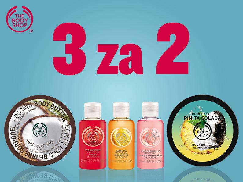 Mini produkty - 3 w cenie 2 @ The Body Shop