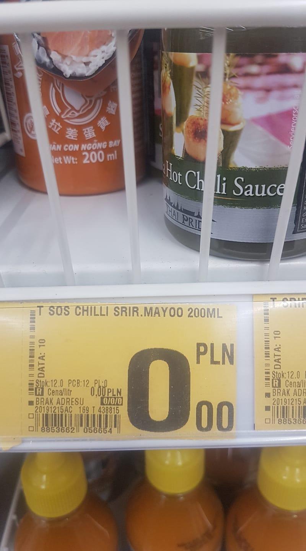 Sos chili Sriracha Mayo majonezowy 200 ml - Auchan Szczecin