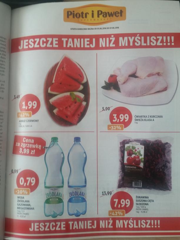 Piotr i Pawel arbuz za 1.99zl