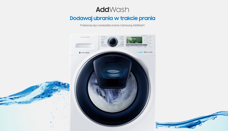 Voucher do Zalando (200zł) przy zakupie pralki Samsung AddWash @ Samsung