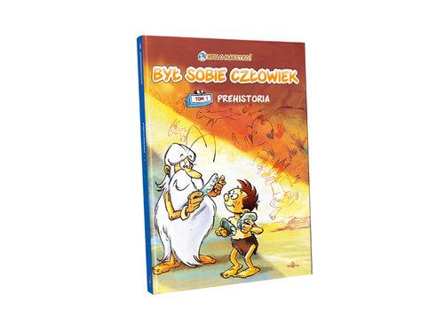 """Świetny komiks na prezent dla dzieci """"Był sobie człowiek"""" t. 1"""
