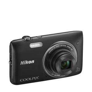 Aparat Nikon Coolpix s3400 (20MP, 7x zoom, stabilizacja VR) za około 238zł @ Zavvi