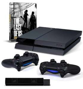 Playstation 4 + 2 pady + kamerka + The Last of Us za 1968zł z wysyłką!! @ Amazon