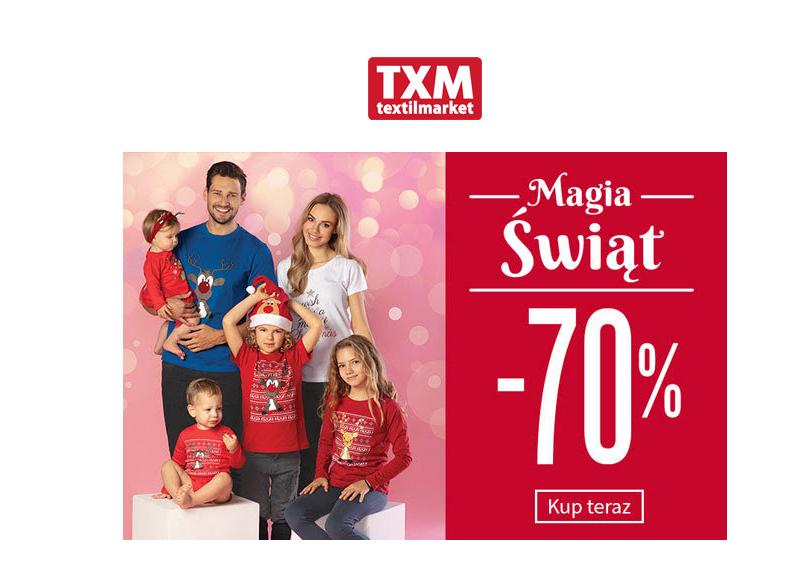 -70% na świąteczne inspiracje w #txm