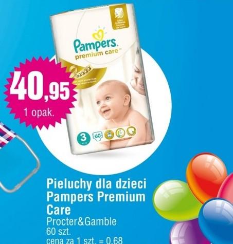Pieluszki Pampers Premium Care za 40,95zł @ E.Leclerc