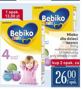 Mleko Bebiko 350g, 2 opakowania za 26zł @ Carrefour