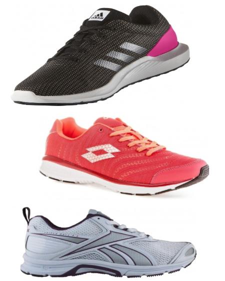 Zestawienie tanie buty do biegania damskie i męskie: Nike, Adidas, Lotto, Reebok