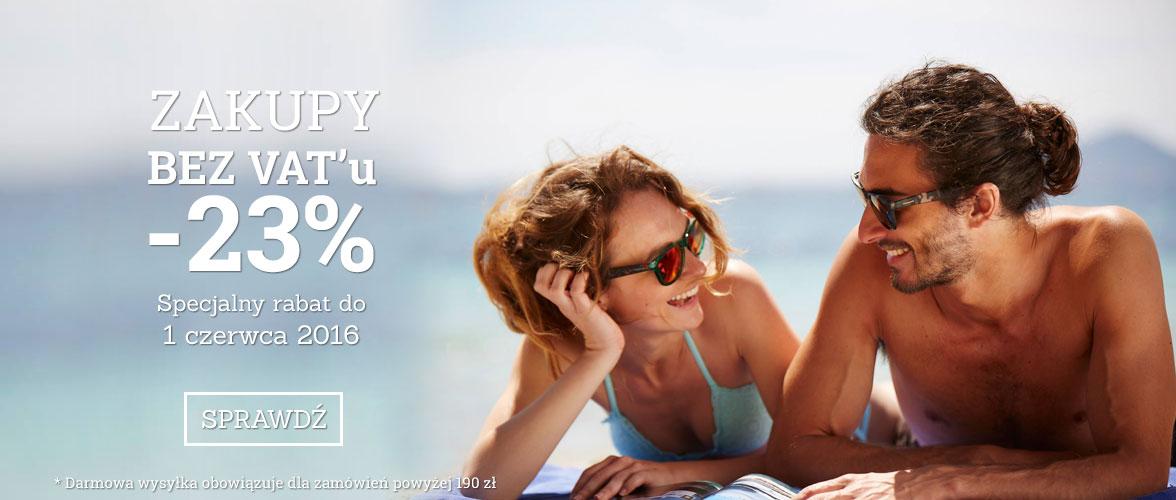 Okulary przeciwsłoneczne Polaroid -23% @okularypolaroid.pl
