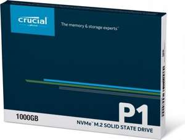 CRUCIAL P1 NVMe PCIe x4 1TB (cena z dostawą)
