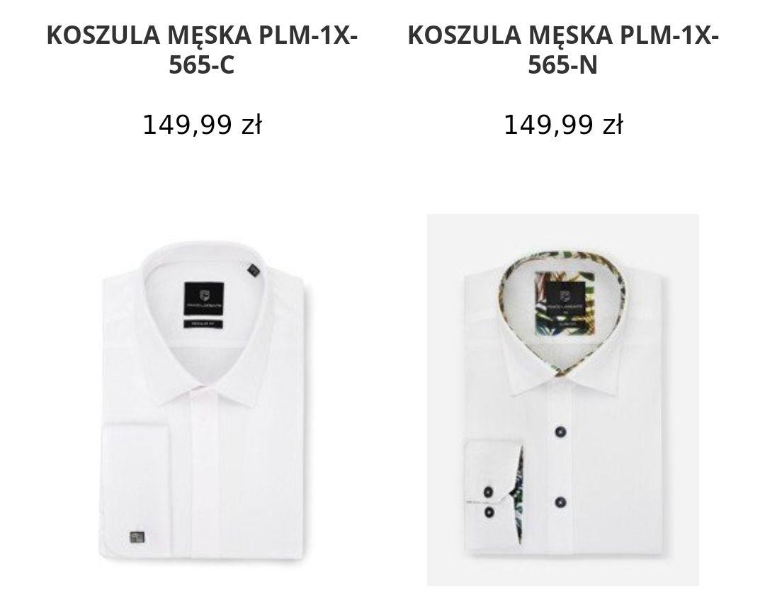 KOSZULA MĘSKA FLORENCE PLM-1X-607-G - Pako Lorente kod na koszule -40%