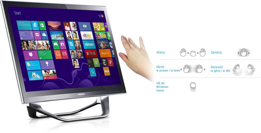 Komputer Samsung AIO DP700A7D-X01PL i7/8GB/1TB/HD7850M @Sferis