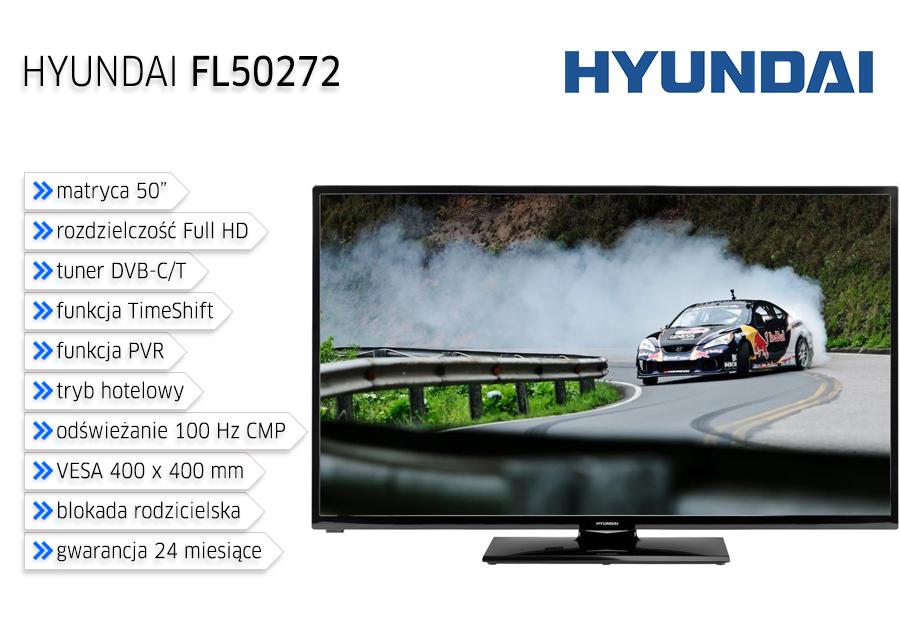 """Telewizor LED 50"""" HYUNDAI FL50272"""
