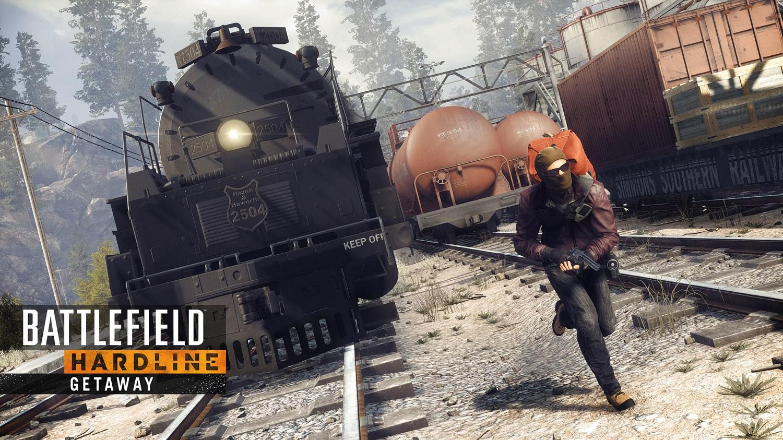 BATTLEFIELD™ HARDLINE UCIECZKA (dodatek za darmo: PS4, Xbox One, PC)