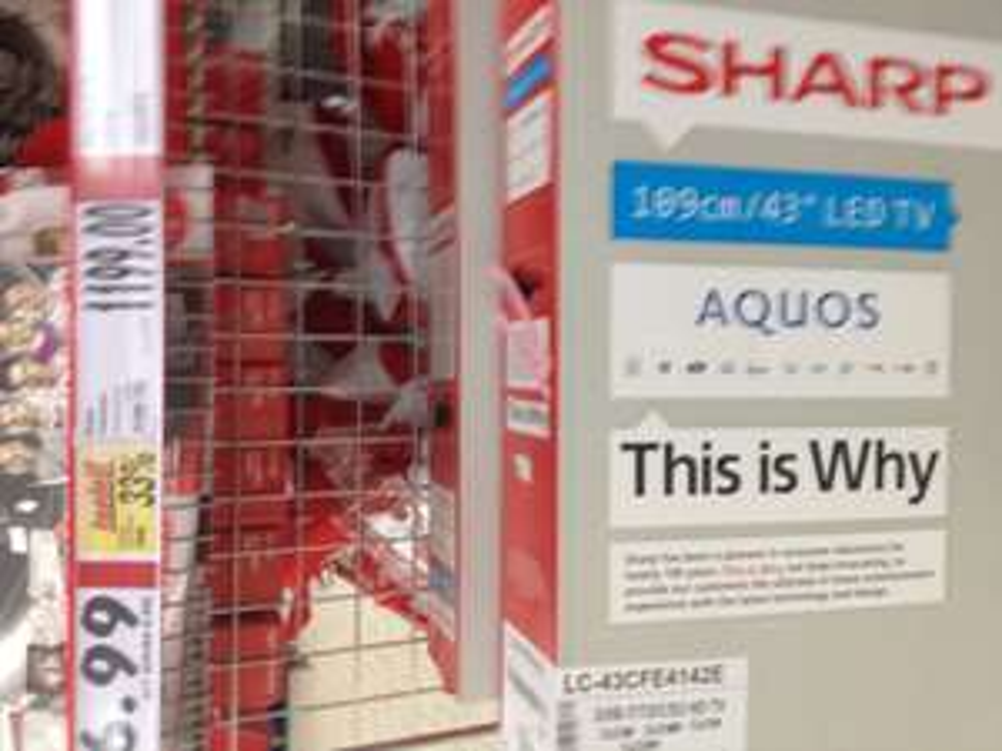 Sharp Aquos LC-43CFE4142E za 1199 zł @ Kaufland