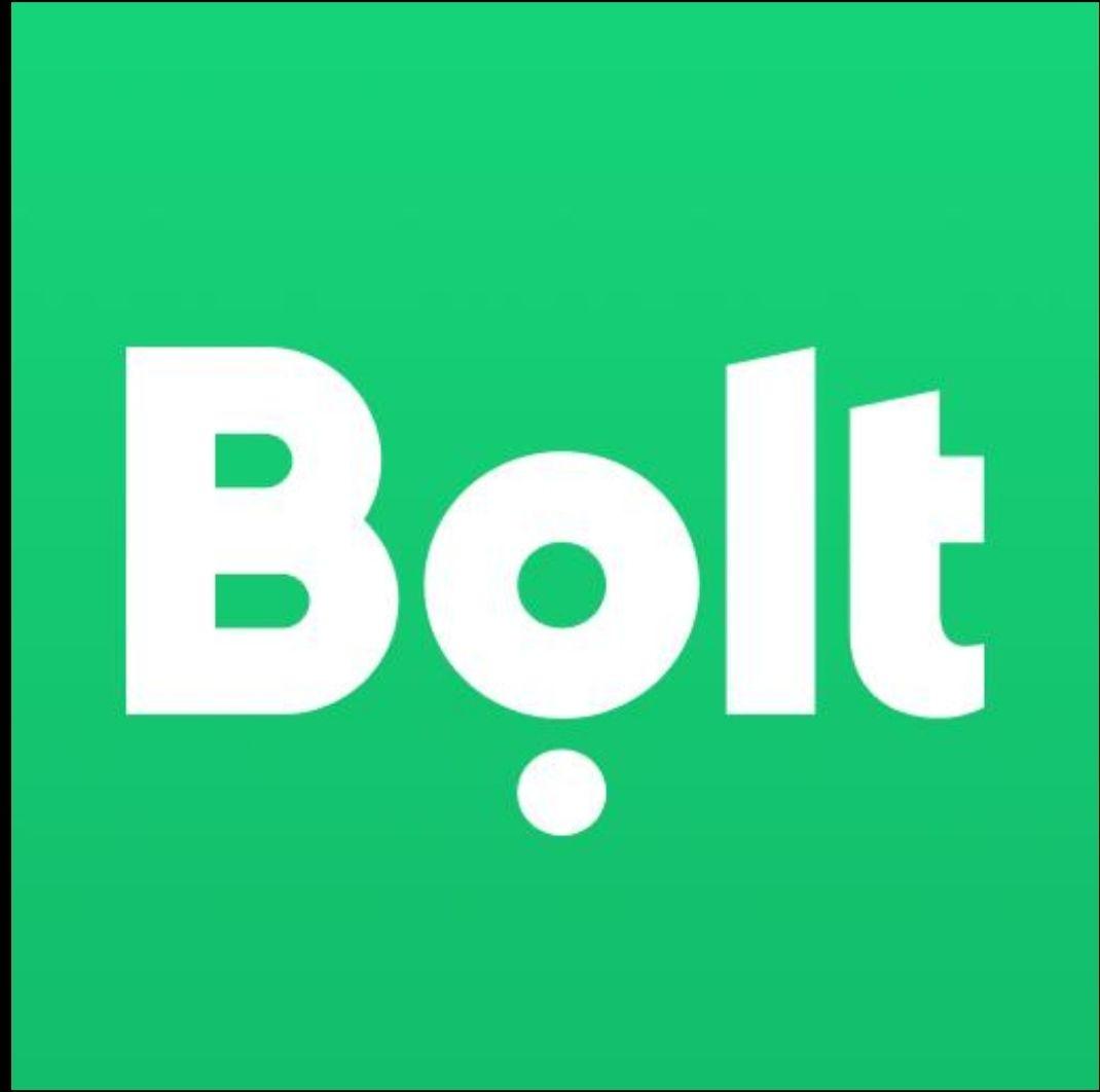 Bolt 10x50%, max 10zł. Ważne do 22.12.2019