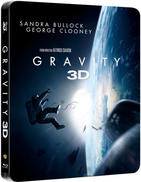 Grawitacja - Limitowana Edycja: Steelbook (3D + 2D Blu-ray) za ok. 57zł @ Zavvi