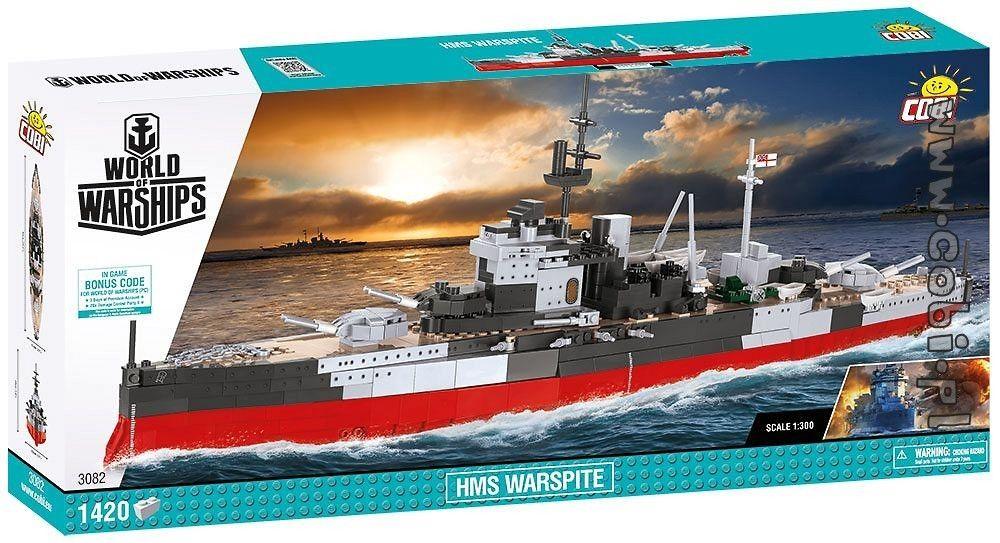 COBI 3082 HMS Warspite