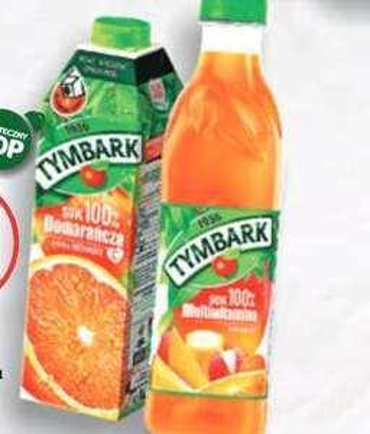 Sok Tymbark Pomarańczowy za 2.85zl (są też inne) w sklepie SPAR Rzeszów